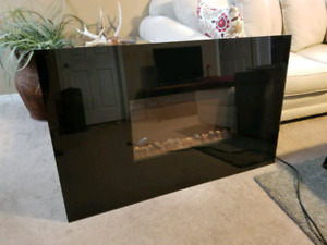 Electric Insert Fireplace $300