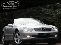 2004 04 MERCEDES-BENZ SL 3.7 SL350 2D AUTO 245 BHP
