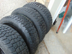 4 Great Winter Tires / Drive safe this Winter . Kitchener / Waterloo Kitchener Area image 1