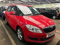 2012 Skoda Fabia 1.4 MPI ( 85bhp ) SE. PERFECT. MOT. TAX. FSH.
