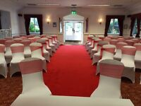 Chair Covers and Sashes to Hire *£1.00*