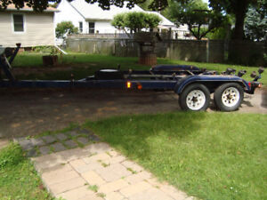 TANDEM AXLE HEAVY DUTY BOAT TRAILER