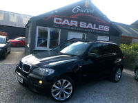 2009 BMW X5 3.0D M SPORT NAV, PAN ROOF AUTOMATIC 4WD FINANCE & PARTX 1 OWNER