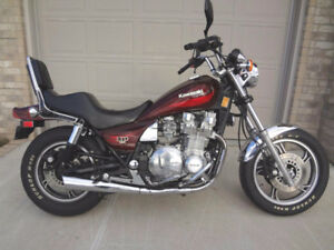 WANT TO BUY ; 1980s Kawasaki 1100 LTD or Spectre Motorcycle !