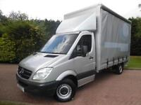 2011/61 Mercedes-Benz Sprinter 316 2.1 CDI LWB EXTRA HIGH ROOF CURTAINSIDE