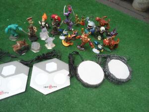 Wii consol, games, skylanders-  instant fun! whole shebang!
