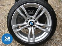 """BMW 441M 18"""" Alloy Wheels with Tyres (Runflats) Original BMW"""