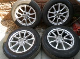 18 inch genuine audi vw alloy wheels 18