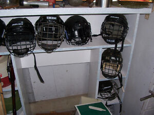 Youth Hockey Helmets in Various Sizes $20 EACH