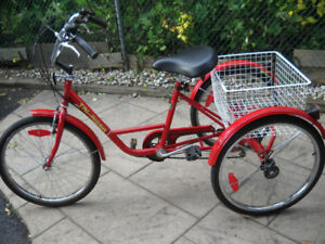 TRI-RIDER ADULT TRIKE FOR SALE
