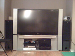 Large Rear Projection Television (RPTV)