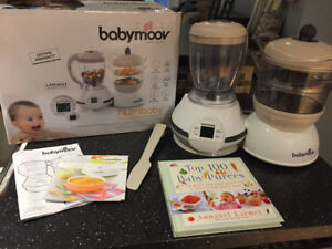Babymoov blender and steamer