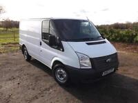 2012 FORD TRANSIT SWB low roof 6 speed Euro 5 1 owner