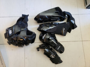 Slightly used, great condition sparing gear