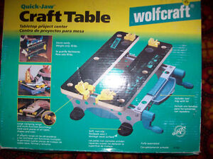 Wolfcraft Quick-Jaw Craft Table / Tabletop Project Center