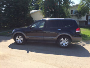 2009 Kia Borrego Black SUV, Crossover