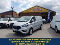2018 FORD TRANSIT CUSTOM LIMITED LASTEST NEW MODEL 130 BHP SWB 2018/18 REG EX DE