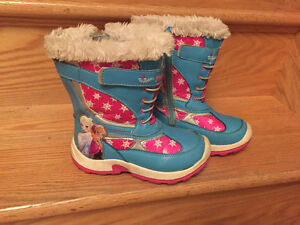 Frozen winter boots