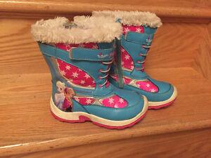 Frozen winter boots