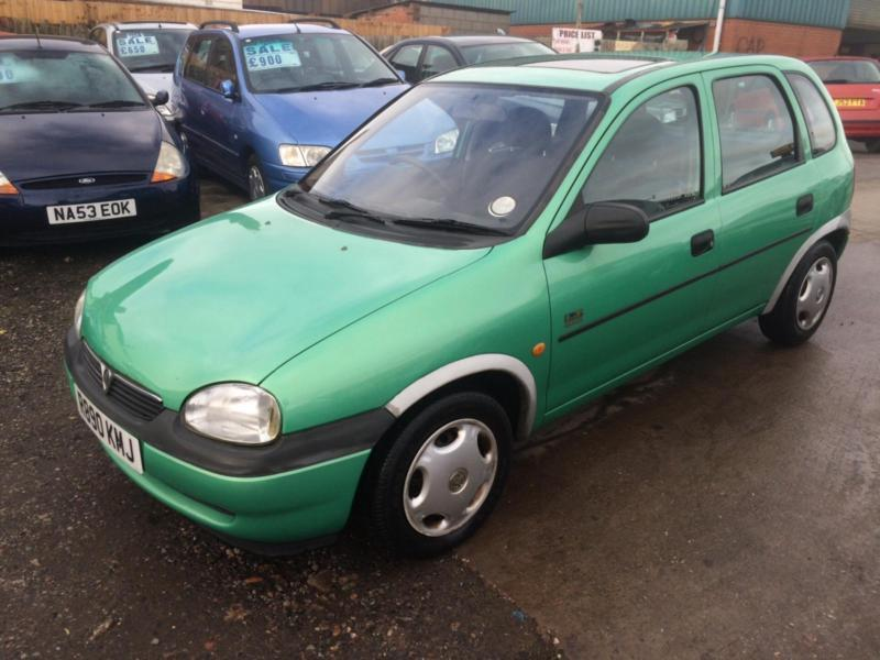 1998 r vauxhall opel corsa ltd edn low mileage hpi clear long mot in bordesley green. Black Bedroom Furniture Sets. Home Design Ideas