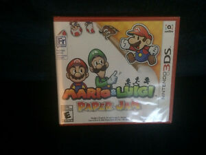 Bran new Mario & Luigis Paper Jam sealed