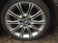 BMW E46 E87 E90 3 Series 1 Series genuine mv2 alloy wheels