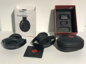 BEATS STUDIO WIRELESS OVER-EAR HEADPHONES- AS IS- mnx