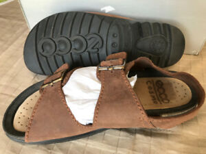 Men's leather Sandals ECCO COSMO MENS SANDLES Size 41 Leather up