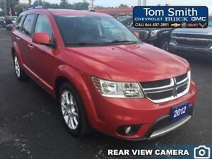 2012 Dodge Journey R/T RALLYE - LEATHER, SUNROOF, REAR VISION CA