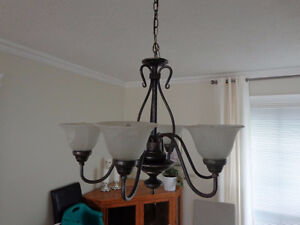 Matching ANTIQUE SILVER CHANDELIERS