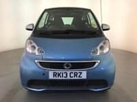 2013 SMART FORTWO PASSION MHD AUTOMATIC FREE ROAD TAX SAT NAV SERVICE HISTORY