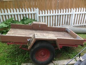 "Utility Trailer with 96""x 44"" deck"