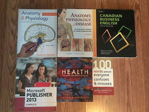 CONESTOGA COLLEGE- Health office admin- First year textbooks