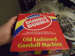 Dubble Bubble gumball machine, never been used.