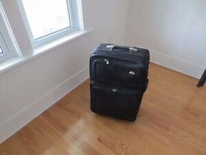 large travel suitcase