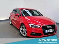 2013 AUDI A3 2.0 TDI S Line GBP3420 Of Extras Sat Nav Leather Bluetooth