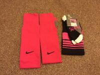 Girls football socks brand new size 4-6.5