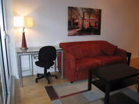 NOW! Fully Furnished 1 Bdrm Condo in Downtown Ottawa
