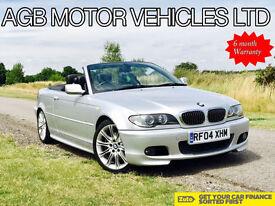 BMW 330 3.0 AUTO Ci SPORT M-SPORT AUTOMATIC E46 COVERTIBLE M SPORT - HPI CLEAR
