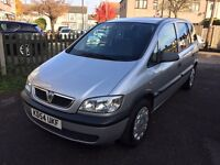 2005 VAUXHALL ZAFIRA 1.8 LIFE EXCELLENT FULL VAUXHALL HISTORY