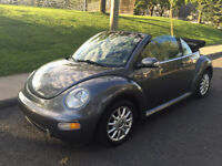 2004 VOLKSWAGEN NEW BEETLE CABRIOLET  , AUTOMATIQUE, SIEGES CUIR