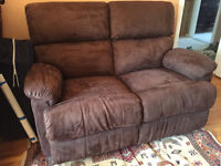 Must Sell: Perfect Condition Love Seat Recliner
