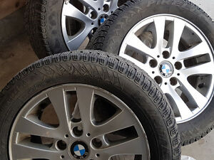 205/55/16 Winter tires for BMW with Rim (4 tires with Rim)