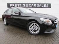 2015 Mercedes-Benz C Class 1.6 C200 CDI BlueTEC SE 5dr Diesel black Manual