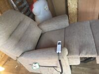 Sherborne reclining chair, beige.