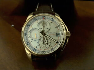 18k solid gold chronograph, watch CHOPARD.