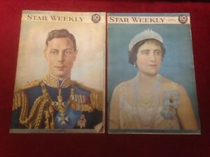 1939 Star Weekly Magazines
