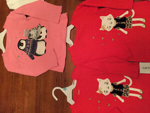 New! Carters long sleeve shirts. Size 6,9,18 and 24 mths Kitchener / Waterloo Kitchener Area image 4