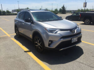 2016 Toyota RAV4 SE AWD. Fully Loaded. Mint Condition. Low KMs!