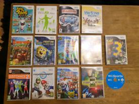 Black Wii Console plus Games